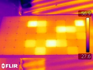 Thermal photos perth, solar panel