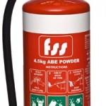 Foam, Water and Carbon Dioxide Fire Extinguishers