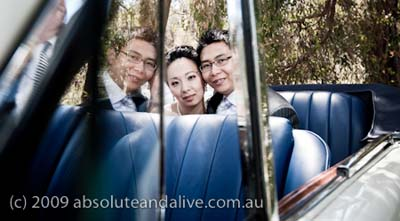 classic wedding limos in Perth