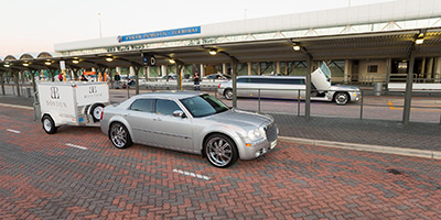 chrysler limo at perth airport
